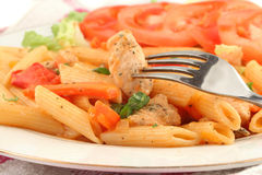Chicken primavera Stock Photography