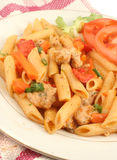 Chicken primavera Stock Image