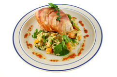 Chicken Prosciutto 1 Royalty Free Stock Images