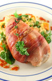 Chicken Prosciutto 2 Stock Photo
