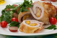 Chicken Prosciutto Roulade Stock Image