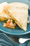 Chicken Quesadilla Stock Image