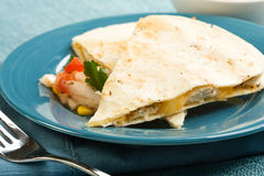Chicken Quesadilla Stock Photos