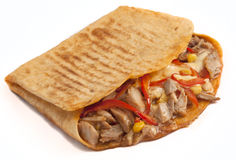 Chicken Quesadilla Royalty Free Stock Image