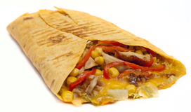 Chicken Quesadilla Stock Photo