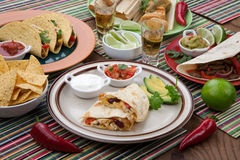 Chicken Quesadilla Royalty Free Stock Images