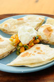 Chicken quesadilla Royalty Free Stock Photography