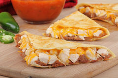 Chicken Quesadillas Stock Photos