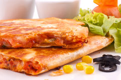 Chicken Quesadillas Stock Photography