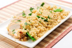 Chicken and quinoa Royalty Free Stock Image