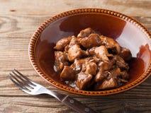 Chicken ragout Stock Photos