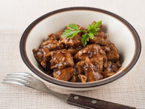 Chicken ragout Stock Images