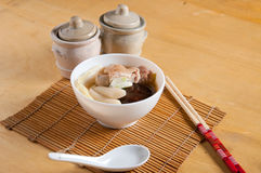 Chicken ramen Royalty Free Stock Images
