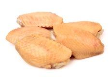 chicken raw wings Стоковая Фотография RF