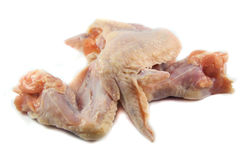 chicken raw wings 库存图片