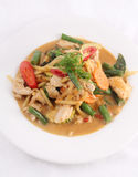 Chicken red curry, Thai food. Stock Photo