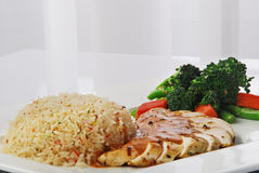 Chicken rice Stock Photography