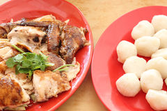 Chicken rice ball Stock Photography