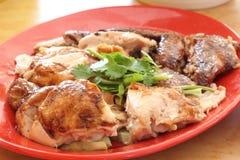 Chicken rice ball Stock Photo