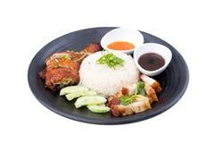 Chicken rice Stock Image