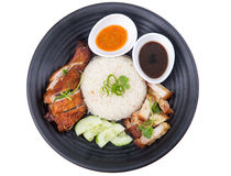 Chicken rice Royalty Free Stock Image
