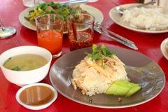 Chicken Rice Royalty Free Stock Photos