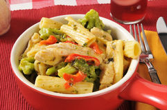 Chicken rigatoni Royalty Free Stock Images