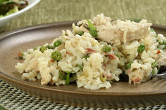 Chicken risotto Royalty Free Stock Photos