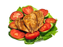 Chicken roast Royalty Free Stock Image