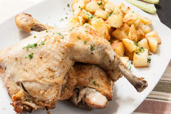 Chicken roast Royalty Free Stock Photos