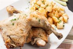 Chicken roast Royalty Free Stock Photos