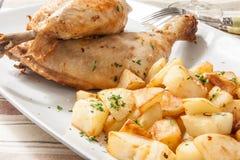 Chicken roast Stock Image