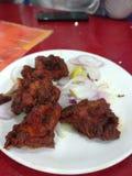 Chicken roast. Food delicious chicken Malabar royalty free stock image