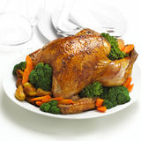 Chicken roast Royalty Free Stock Images