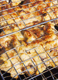 Chicken roasted pieces Stock Images
