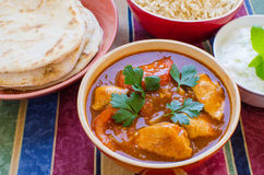 Chicken Rogan Josh Royalty Free Stock Photography