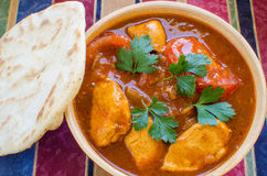 Chicken Rogan Josh Stock Image