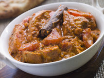 Chicken Rogan Josh Gosht Restaurant Style Royalty Free Stock Photography