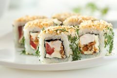 Chicken Roll Royalty Free Stock Photography