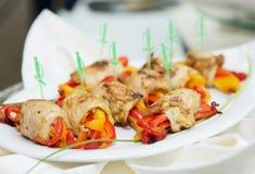 Chicken rolls Stock Image