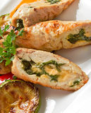 Chicken Rolls Royalty Free Stock Photos