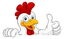 Free Chicken Rooster Cockerel Bird Cartoon Character Royalty Free Stock Photography - 169857967
