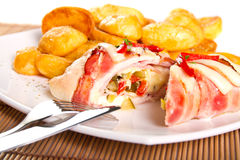 Chicken Roulade Royalty Free Stock Image