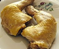 Chicken's leg Stock Photo