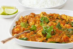 Chicken Sag Curry Royalty Free Stock Images
