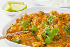 Chicken Sag Curry Royalty Free Stock Photography