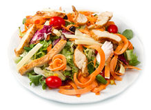 Chicken salad Stock Photography