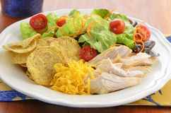 Chicken with salad Stock Images
