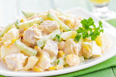 Chicken salad Stock Photo