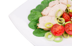 Chicken Salad. Royalty Free Stock Images
